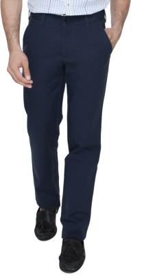 Jadeblue Slim Fit Men's Blue Trousers