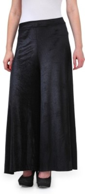 pinksisly Regular Fit Women's Black Trousers
