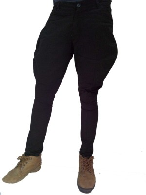 Vinay Collection Slim Fit Men's Black Trousers