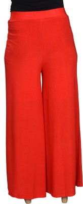 Asmara Regular Fit Women's Red Trousers