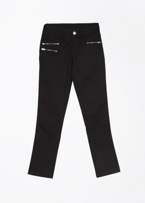 United Colors of Benetton Baby Girls Black Trousers