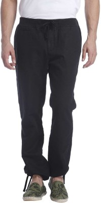 Jack & Jones Regular Fit Men's Black Trousers
