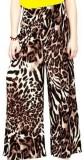 AS42 Regular Fit Women's Brown Trousers