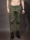 Roadster Regular Fit Men's Green Trouser...
