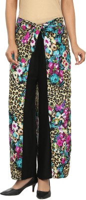 Pops N Pearls Regular Fit Women's Multicolor Trousers