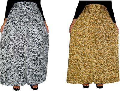 Barbarik Regular Fit Women's Black, Gold Trousers