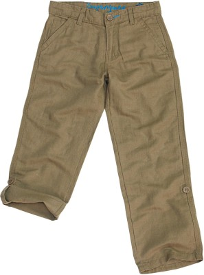 SuperYoung Regular Fit Boy's Beige Trousers