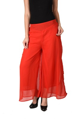 2Day Regular Fit Women's Red Trousers