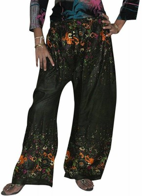 Home Shop Gift Regular Fit Women's Green Trousers
