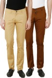 Ansh Fashion Wear Regular Fit Men's Mult...