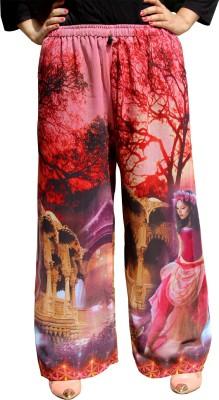 CrazeVilla Regular Fit Women's Pink Trousers