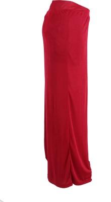 Casam Regular Fit Women's Maroon Trousers
