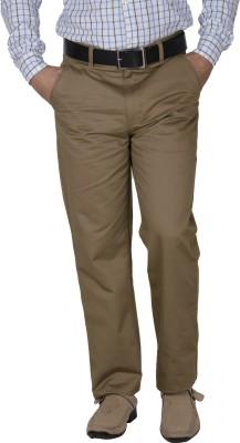 Crocks Club Regular Fit Men's Beige Trousers