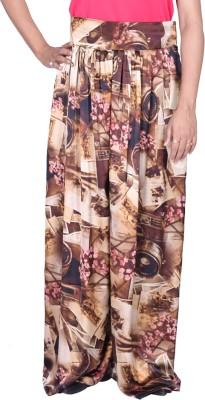Kaaj Designs Regular Fit Women's Brown Trousers