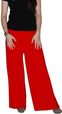 shrayst fashion Regular Fit Women's Red Trousers