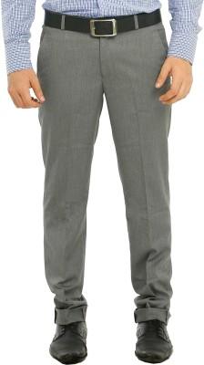 Richlook Slim Fit Men's Grey Trousers