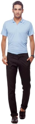 Live In Regular Fit Men's Black Trousers