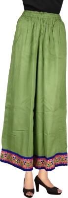 Decot Paradise Regular Fit Women's Green Trousers