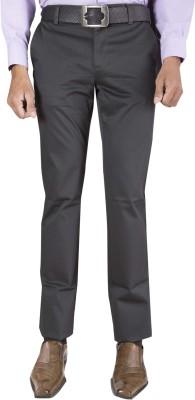 Barrier Reef Slim Fit Men's Grey Trousers