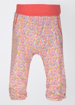 Feetje Baby Girl's Pink, White, Orange Trousers