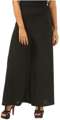 Dimpy Garments Slim Fit Women's Black Trousers