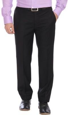 Alnik Regular Fit Men's Black Trousers