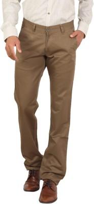 Bottoms Slim Fit Men's Gold Trousers