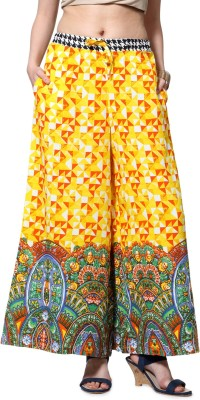 Akkriti by Pantaloons Regular Fit Women's Yellow Trousers at flipkart