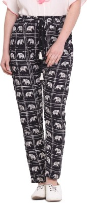 Rena Love Regular Fit Women's Black Trousers