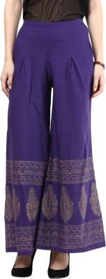 Seveneast Regular Fit Women's Multicolor Trousers