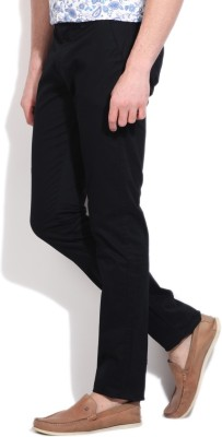 Integriti Slim Fit Men's Dark Blue Trousers