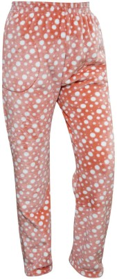 Indiatrendzs Regular Fit Women's Orange Trousers