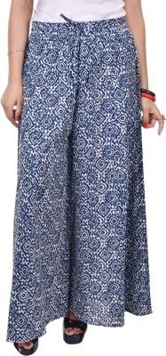 Artisan Creation Regular Fit Women's Blue Trousers
