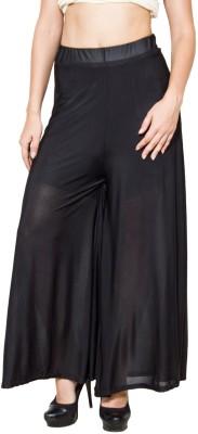 CJ15 Regular Fit Baby Girl's Black Trousers