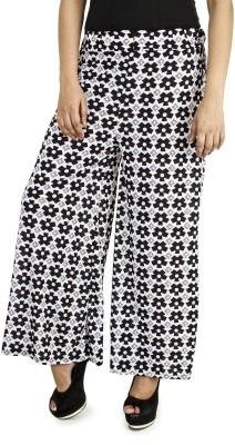 Happy Hangar Regular Fit Women's Multicolor Trousers