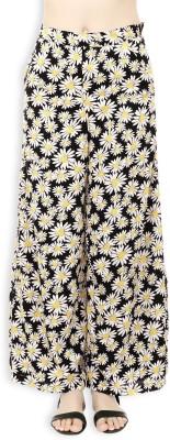 20Dresses Regular Fit Women's Black, White, Yellow Trousers