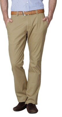French Connection Slim Fit Men's Brown Trousers