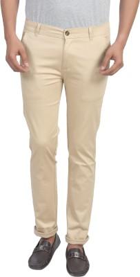 Trendy Trotters Regular Fit Men's Cream Trousers