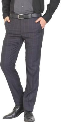 NATTG Slim Fit Men's Blue Trousers