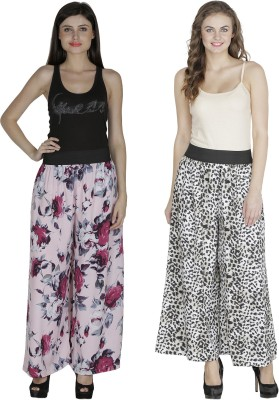 Shopingfever Regular Fit Women's Pink, Black Trousers