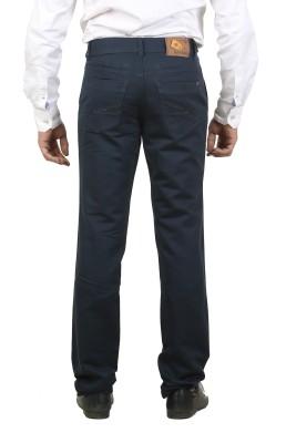 Ethzone Regular Fit Men's Blue Trousers