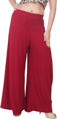 Bottoms More Regular Fit Women's Red Trousers