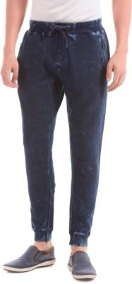 Shuffle Slim Fit Men's Blue Trousers