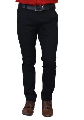 Nimegh Slim Fit Men's Black Trousers