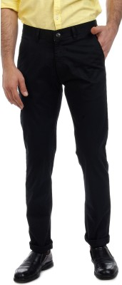Sting Slim Fit Men's Black Trousers