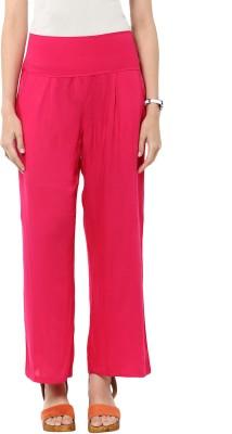 Sakhi Sang Regular Fit Women's Pink Trousers