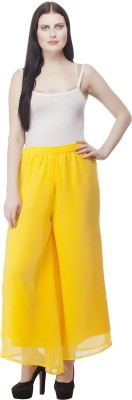 Selfie Regular Fit Women's Yellow Trousers