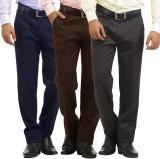 Inspire Slim Fit Men's Blue, Brown, Grey...