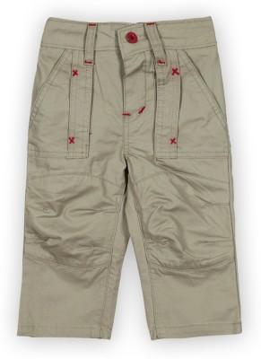 Lilliput Regular Fit Boy's Light Green Trousers