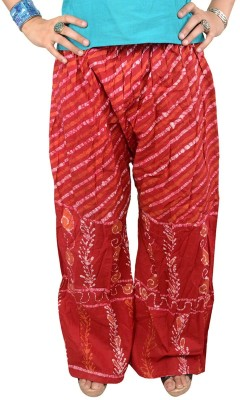 Shopatplaces Regular Fit Women's Maroon Trousers
